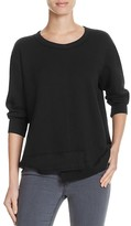 Wilt Shrunken Shifted Hem Sweatshirt