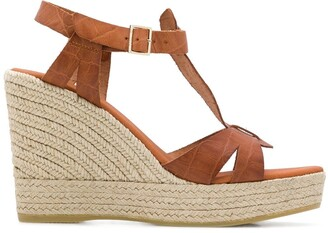 Carvela Kollect espadrille wedge sandals