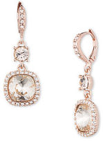 Givenchy Double Crystal Earrings