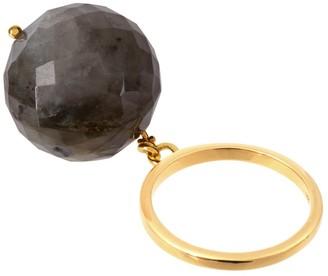 Amadeus Bubble Labradorite Ring