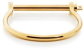 Miansai Gold Screw-Cuff Bracelet