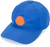 Moncler logo plaque baseball cap - men - Cotton/Polyester - M