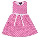 Oscar de la Renta Little Girl's Sleeveless Printed Dress