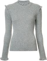 Derek Lam 10 Crosby cashmere ruffle jumper - women - Cashmere - XS