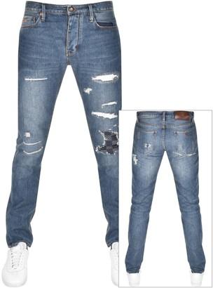 Giorgio Armani Emporio J75 Slim Fit Jeans Blue