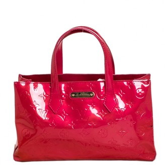 Louis Vuitton Wilshire Red Patent leather Handbags