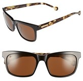Jonathan Adler Women's 'Acapulco' 57Mm Retro Sunglasses - Black