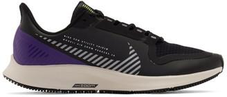 Nike Black Air Zoom Pegasus 36 Shield Sneakers