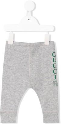 Gucci Kids Logo Print Track Pants