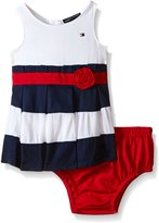Tommy Hilfiger Baby-Girls Woven Bedford Cord Dress with Panty