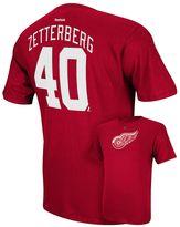 Reebok Men's Detroit Red Wings Henrik Zetterberg Player Tee