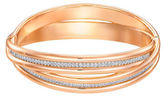 Swarovski Crystal & Rose Gold Bangle