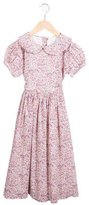 Rachel Riley Girls' Floral Print Dress