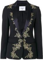 Dondup metallic embroidered blazer