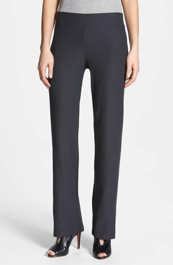 65e20a1a8210cf Eileen Fisher Crepe Pants - ShopStyle