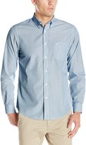 Dockers Long Sleeve Fineline Cvc Woven Shirt