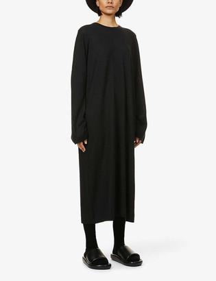 Frenckenberger Oversized cashmere midi dress
