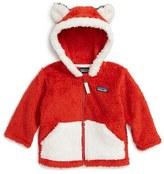 Patagonia Infant Boy's Furry Friends Fleece Hoodie
