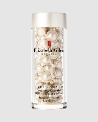Elizabeth Arden Women's White Hydrating & Hyaluronic Serums - Hyaluronic Acid Ceramide Capsules Hydra-Plumping Serum 60 Piece - Size One Size, 60