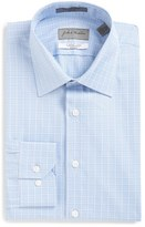 John W. Nordstrom Trim Fit Plaid Dress Shirt
