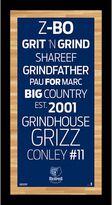 "Steiner Sports Memphis Grizzlies 19"" x 9.5"" Vintage Subway Sign"