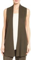 Eileen Fisher Sleek Ribbed Tencel(R) Vest