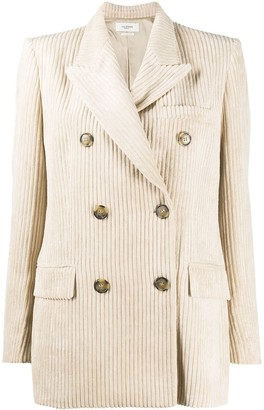 Etoile Isabel Marant Double-Breasted Corduroy Jacket