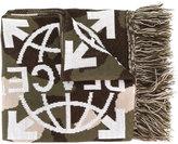 Off-White peace scarf - unisex - Acrylic - One Size