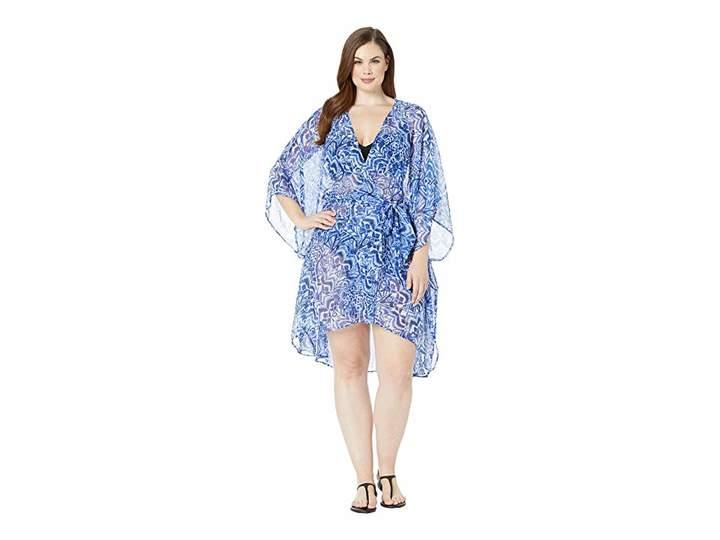 dfed91c437209 Lauren Ralph Lauren Blue Plus Size Swimsuits - ShopStyle
