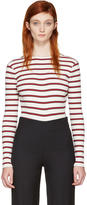 Harmony Ecru Striped Tanya Bodysuit