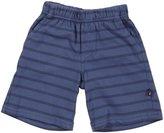 City Threads Soft Stripe Jersey Shorts (Baby) - Denim Blue-6-9 Months