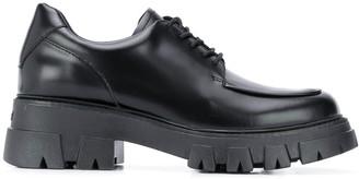 Ash Platform Lace-Up Shoes
