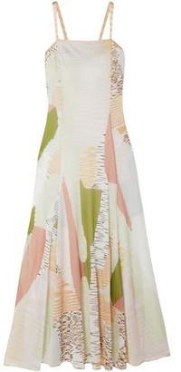 Missoni Flared Intarsia-knit Maxi Dress