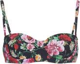 Dolce & Gabbana Floral Bra Bikini Top