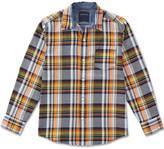 Nautica Little Boys' Plaid Button-Down Shirt (4-7)