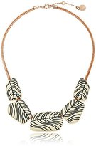 "Vince Camuto Engraved Beaded Necklace, 18"" + 2.5"" Extender"