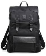 Belstaff Roadmaster Leather Trimmed Backpack