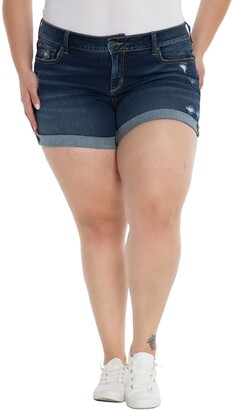 SLINK Jeans Cuff Denim Shorts