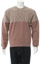 Opening Ceremony Cable Knit Wool Sweatshirt w/ Tags