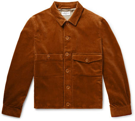 YMC Pinkley Cotton-Corduroy Jacket - Men - Brown