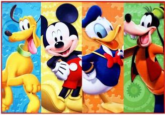 "Disney Disney's Mickey Mouse & Friends Rug - 4'6"" x 6'6"""