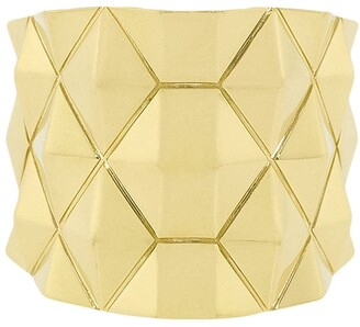 Cadar 18kt Yellow Gold Python Thick Ring