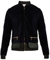 Kolor Velvet bomber jacket