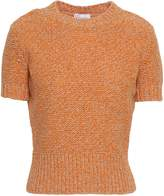 RED Valentino Marled Wool-blend Sweater