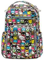 Ju-Ju-Be Infant Girl's For Hello Kitty 'Be Right Back' Diaper Backpack - Grey