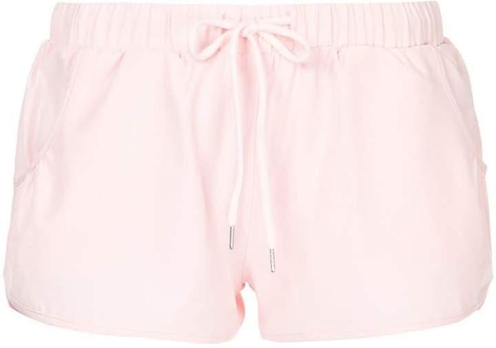 The Upside drawstring running shorts