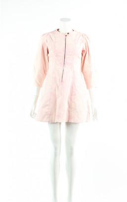 Ulla Johnson Pink Denim - Jeans Dresses