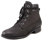 Bronx Mixer Up Women Round Toe Leather Black Ankle Boot.