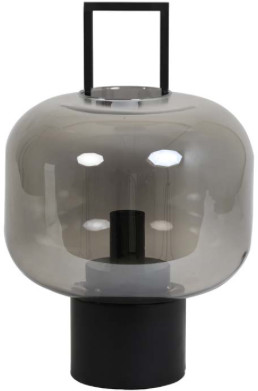 Light & Living - Lamp Arturo - 29x46   glass   grey   185 - Grey/Grey