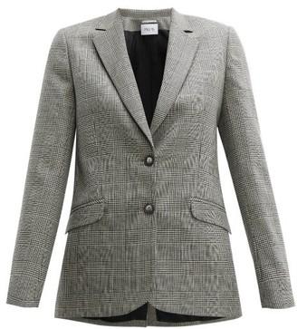 Pallas Paris - Fidji Single-breasted Wool Blazer - Grey Multi